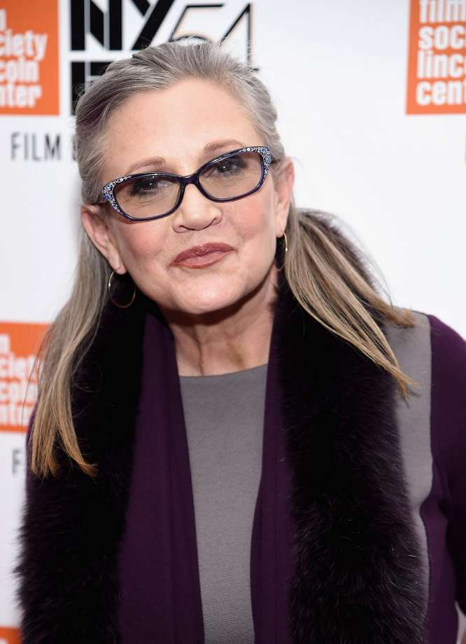 Carrie Fisher dead of a Heart Attack