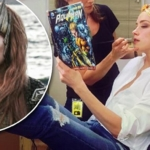 Amber Heard makes out with mystery man in Australia