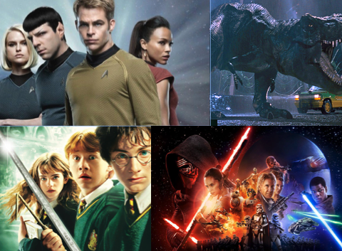 top 4 movie franchises