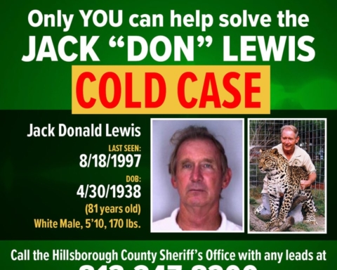 Case reopened in 1997 disappearance of Don Lewis